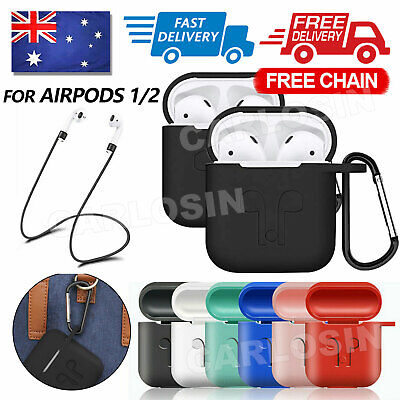 AU4.45 • Buy Strap Holder & Silicone Case Cover Skin For Airpod Accessories Airpods AU