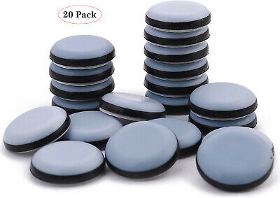 AU13.99 • Buy 20Pcs Furniture Sliders For Carpet Movers Shifter Heavy Duty Removal Feet Glider