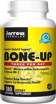 £20.99 • Buy Jarrow Formulas Bone-Up Three Per Day StimuCal Vitamin K2 MK-7 Capsules, 2 Sizes