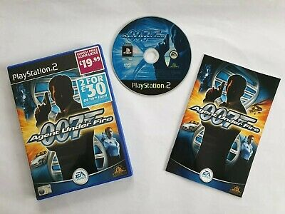 007 James Bond: Agent Under Fire Sony PS2 Very Good, Video Game PlayStation 2 • 2.45£