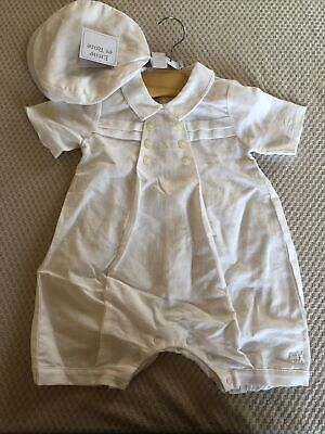 Emile Et Rose Christening Outfit Size 12 Months • 6£
