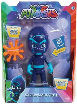 PJ Masks Night Ninja Deluxe Talking Figure 15 Cm By Just Play - JPL24699 • 10.99£