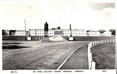 1965 Rp Postcard: The Royal Military Academy, Sandhurst, Camberley, Surrey • 1.50£