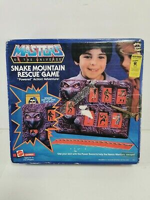 $249.95 • Buy MOTU Snake Mountain Rescue Game Masters Of The Universe He-Man Complete Working