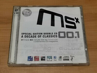 Various Artists  - MSX001 Moving Shadow Special Edition CD • 6.95£