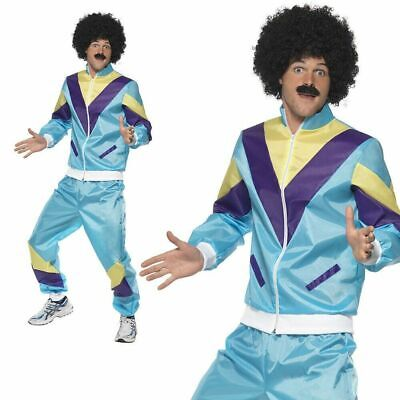 80's Smiffys Costume Scouser Shell Suit Mens Fancy Dress Outfit Medium  • 9.99£