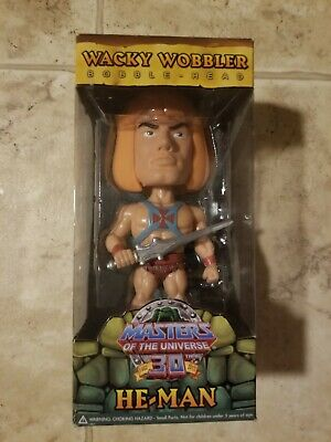 $49.99 • Buy He-Man Funko Wacky Wobbler Masters Of The Universe 30th Anniversary MIB NEW MOTU