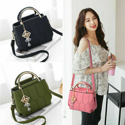 $ CDN37.73 • Buy Women Faux Leather Handbags Shoulder Messenger Satchel Crossbody Tote Bags Gifts