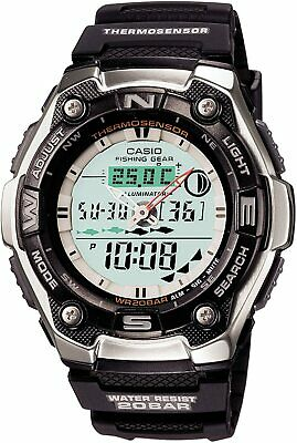 £47.12 • Buy Official CASIO SPORTS GEAR AQW-101J-1AJF  With Fishing Time Function