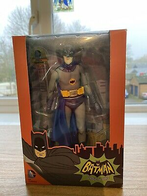 NECA Batman Classic TV Series Adam West Exclusive 7  Action Figure 1:12 1966 • 8.30£