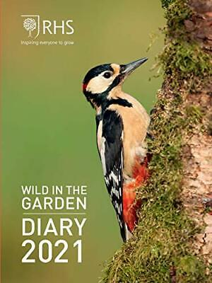 Royal Horticultural Society Wild In The Garden Pocket Diary 2021 (Diaries 2021) • 7.29£