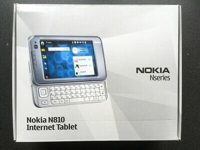 Nokia N810 Tablet, 100% Original Boxed / Accessories / QWERTY  • 70£