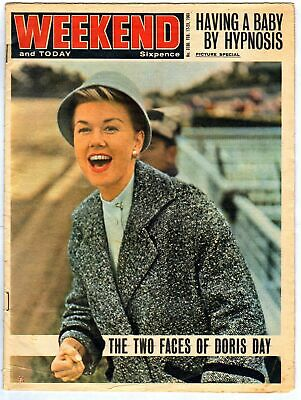 Weekend And Today Magazine No.3130 - 17th Feb 1965 - Doris Day Cover & Article • 5.99£