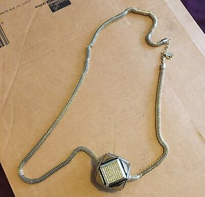 Heavy Ball And Chain Necklace • 0.99£