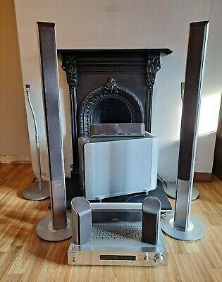 Sony 5.1 / 7.1 Home Cinema Surround Sound System. Amplifier + Speakers + Stands • 25£