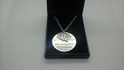 Love Between A Grandmother And Grandaughter Is Forever Necklace  In Gift Box • 3.99£