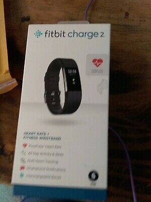 $ CDN25.94 • Buy Fitbit Charge 2 FB407SBKL Activity Tracker, Large - Black