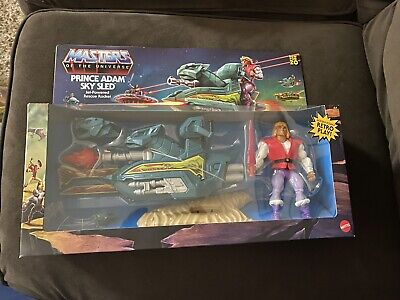 $150 • Buy MASTERS OF THE UNIVERSE ORIGINS (MOTU) 9 Figure Set With Battle Cat And Sky Sled