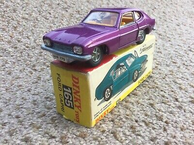 Dinky Toy No 165 Ford Capri 99% Mint In 99% Mint Box Superb. • 30£