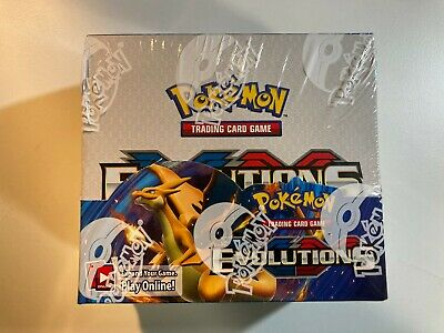 $749.99 • Buy Factory Sealed Pokemon XY Evolutions Booster Box (36 Packs)