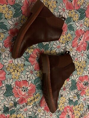 Clarks Trace Fall Leather Tan Brown Boots Size 6 • 30£