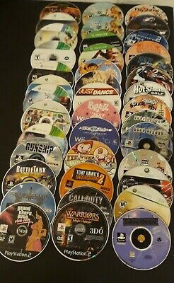 Lot Of 40 PS1.2.3, Wii Xbox 360 And Xbox One Discs For Repair Only • 65.24£