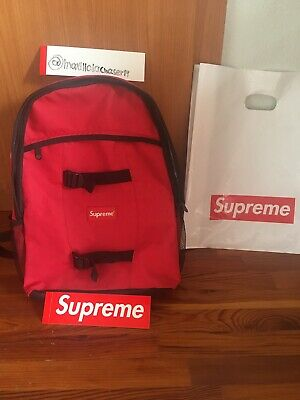 $ CDN102.24 • Buy Supreme Backpack Red Color F/W Brand New