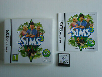 THE SIMS 3 * NINTENDO DS / LITE / DSi . 100% GENUINE Games Sold Here • 14.99£
