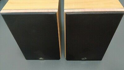 Gale Gold Monitor Main / Stereo Speakers Bookshelf Or Stand Mount • 10.50£
