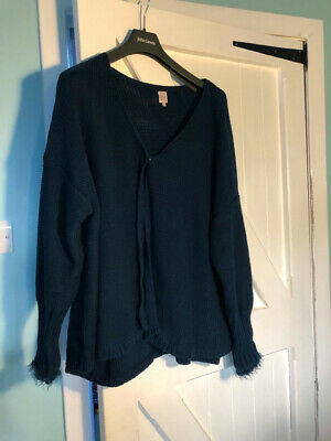 Miss By Captain Tortue Deep Teal Cardigan T4 • 5£