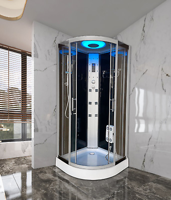 NON STEAM SHOWER CUBICLE ENCLOSURE CABIN CUBICLE-900mm X 900mm-Bluetooth-GS-27  • 235£