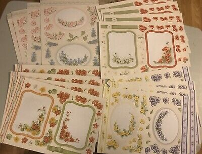 Cardmaking Bundle, Flower Soft, Die-cut Dimensions, Wild Flowers 1 And 2. • 7.50£