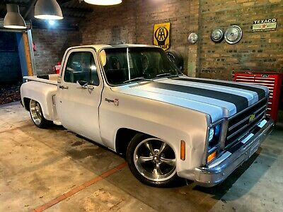 1979 Chevrolet Gmc C10 Stepside Pickup ,california Import,lhd,v8 Auto ,rust Free • 10,620£