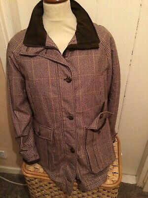 Ladies Laksen Bereleigh Tweed Shooting Coat Size 38 Was £400 Now £200 • 200£