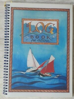 Nautical Log Book For Children - Sailing, Yacht, Boating, Sailor • 4.99£
