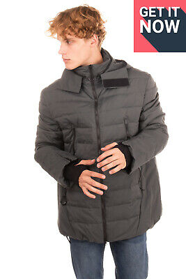 RRP €590 Y-3 YOHJI YAMAMOTO X ADIDAS Down Quilted Jacket Size XL Concealed Hood • 58£