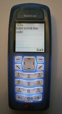 Nokia 3100 Mobile Phone - Boxed - New Accessories - Blue - Collectors Piece!! • 15.99£