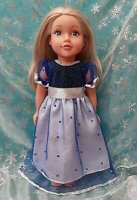 American Girl Our Generation Merry Christmas Party Dress 18 Inch Doll Clothes • 10.50£