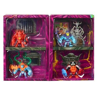 $38 • Buy Eternia Minis Snake Mountain 4 Pack With Exclusive Red Beastman Figure MOTU Toy