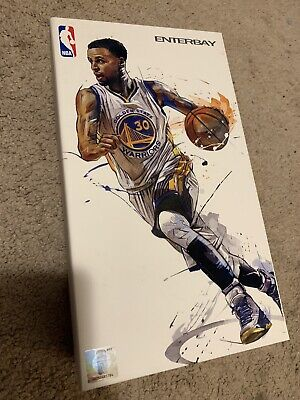 $130 • Buy Stephen Curry 1/9 Scale Enterbay Nba Motion Masterpiece Action Figure Gsw
