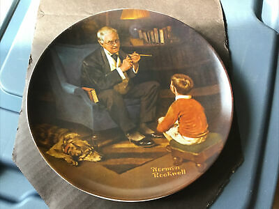 $ CDN19.45 • Buy Knowles China Plate Norman Rockwell Tycoon
