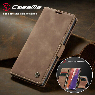 $ CDN9.07 • Buy For Samsung Note 20 S20 Ultra S10+ S9 S8 Magnetic Flip Leather Wallet Case Cover