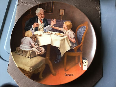 $ CDN19.45 • Buy Knowles China Plate Norman Rockwell The Gourmet