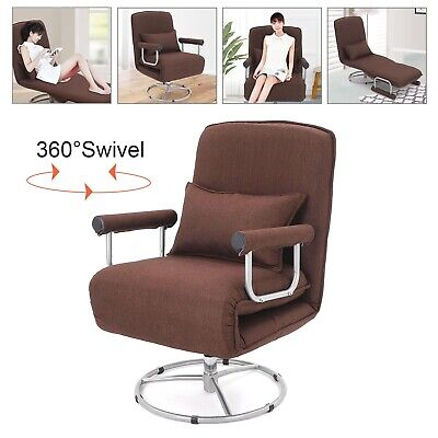 £139.99 • Buy 3-IN-1 Lazy Sofa Single Folding Couch Bed Chair Lounger Sofabed Armrest & Pillow