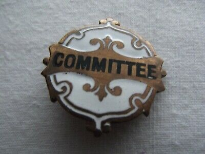 1960s Committee  Badge From Town Show In Essex In VGC Condition • 3.48£