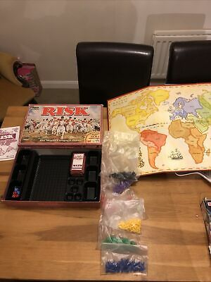 Vintage Risk  Board Game Parker Games The World Conquest 1994 • 10£
