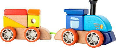 Wooden Toy Train Construction Set • 19.50£