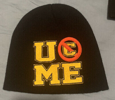 """£18.19 • Buy WWE WWF John Cena """"10 Years Strong"""" Authentic Knit Beanie Cap Hat MAKE AN OFFER"""