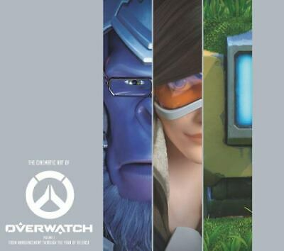 AU55 • Buy The Cinematic Art Of Overwatch By Jake Gerli (2020, Hardcover)