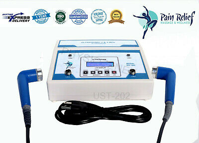 £189.99 • Buy Physiotherapy Ultrasound Therapy 1MHz & 3MHz Unit For Pain Relief Machine ASF